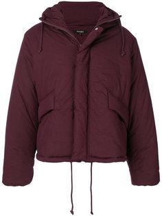 пальто-пуховик с капюшоном Yeezy