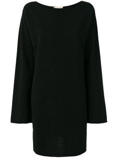 платье шифт с длинными рукавами Fine Edge