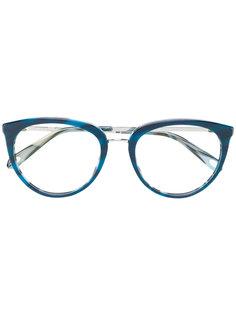 круглые очки с узором  Tiffany & Co.