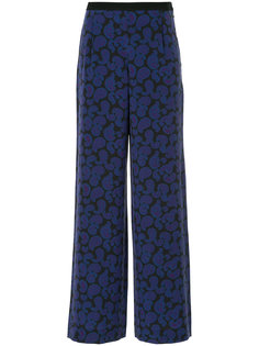 широкие брюки с узором пейсли Christian Wijnants