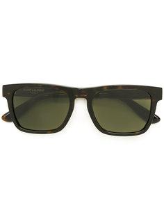классические квадратные солнцезащитные очки  Saint Laurent Eyewear