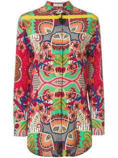 patterned blouse Etro