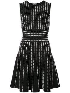 расклешенное платье в полоску Ronny Kobo