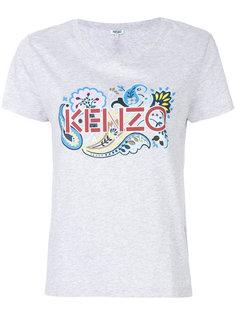 logo print T-shirt Kenzo