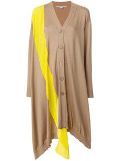 asymmetric stripe soft-knit cardigan Stella McCartney