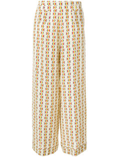 psychedelic print wide-leg trousers Etro
