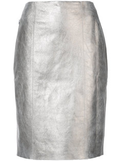 узкая юбка миди Akris