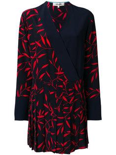 платье с плиссированной юбкой Dvf Diane Von Furstenberg