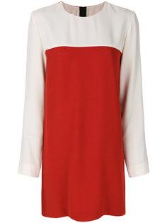 платье дизайна колор-блок Marni
