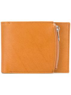 бумажник с отделением на молнии сбоку Maison Margiela