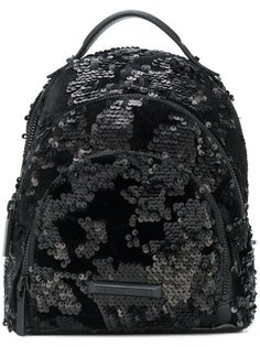 маленький рюкзак с пайетками Kendall+Kylie