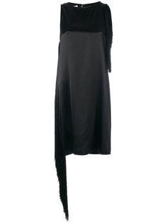мини платье с бахромой Helmut Lang