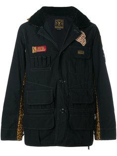 куртка с леопардовой отделкой в стиле милитари Neighborhood