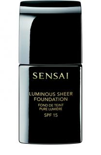 Жидкая тональная основа Luminous Sheer Foundation, оттенок LS103 Sensai