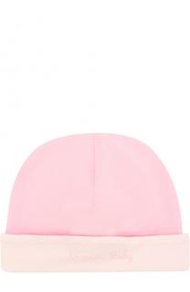 Хлопковая шапка Armani Junior