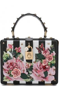 Сумка Dolce Box с принтом Dolce & Gabbana