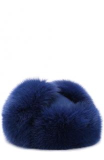 Кашемировая шапка Alaskan с отделкой из меха лисы Loro Piana