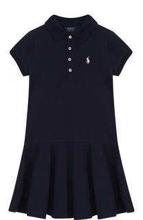 Хлопковое платье Polo Ralph Lauren