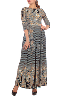 Длинное платье с узорами Lamiavita