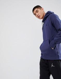 Худи темно-синего цвета Nike Jordan 860200-410 - Темно-синий