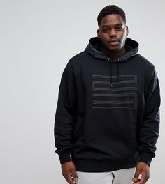 Худи черного цвета с логотипом Nike Jordan PLUS 23 908354-010 - Черный