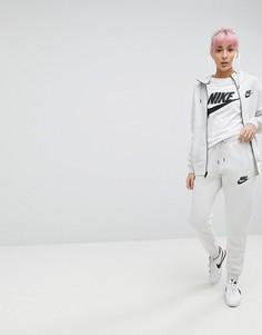 Брюки кремового цвета Nike Rally - Кремовый