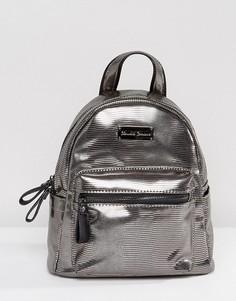 Мини-рюкзак оловянного цвета Claudia Canova - Серебряный