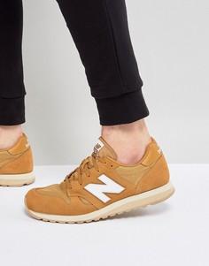 Светло-коричневые кроссовки New Balance 520 U520BF - Рыжий