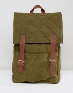 Стеганый рюкзак Hymn - Зеленый