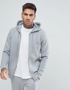 Стеганая куртка на молнии BOSS By Hugo Boss Contemporary - Серый