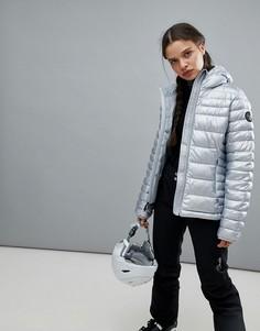 Серебристая куртка Napapijri - Серебряный