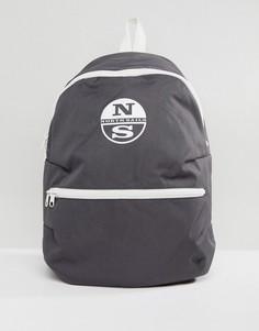 Серый рюкзак с логотипом North Sails - Серый