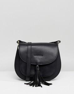 Черная сумка с кисточками Glamorous - Черный