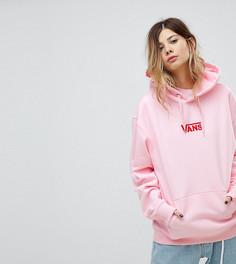 Oversize-худи розового цвета Vans эксклюзивно для Asos - Розовый