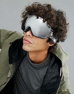 Серые защитные лыжные очки со светоотражающими стеклами Quiksilver QS_RC - Серый