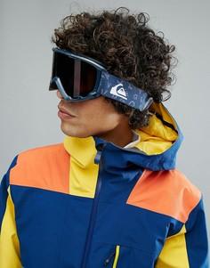 Темно-синие защитные лыжные очки Quiksilver Sherpa - Темно-синий