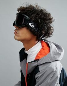 Черные горнолыжные очки Quiksilver Sherpa - Черный