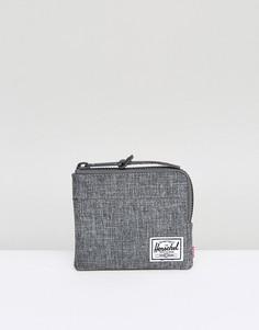 Бумажник на молнии с технологией RFID Herschel Supply Co Johnny - Серый