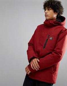 Красная куртка Billabong All Day Snow - Красный