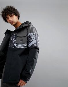 Черная куртка с принтом тай-дай Billabong Tribong - Черный
