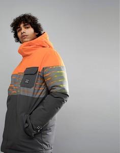 Оранжевая зимняя куртка Billabong Tribong - Оранжевый