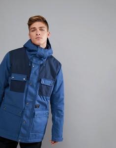 Темно-синяя горнолыжная куртка Billabong - Синий