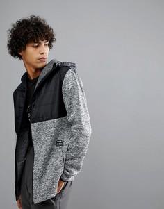 Серая флисовая куртка для межсезонья Billabong - Черный