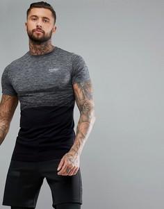 Серая облегающая футболка Muscle Monkey - Серый