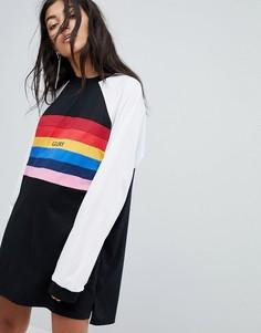 Платье-футболка The Ragged Priest - Черный