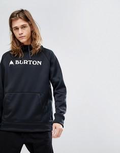Худи черного цвета с логотипом Burton Snowboards - Черный