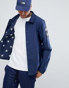 Синяя спортивная куртка с принтом звезд на подкладке The North Face International Limited Capsule - Синий