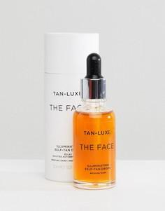 Средство для автозагара 30 мл от среднего до темного оттенка Tan Luxe The Face - Бесцветный