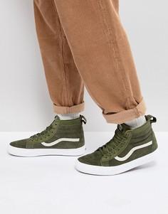Зеленые кроссовки Vans Sk8-Hi MTE VA33TXQWZ - Зеленый