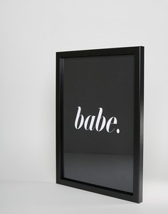 Плакат на стену Honeymoon Hotel Babe - Мульти
